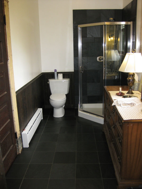SLATE FLOOR BATHROOMS | BATHROOM FLOORS